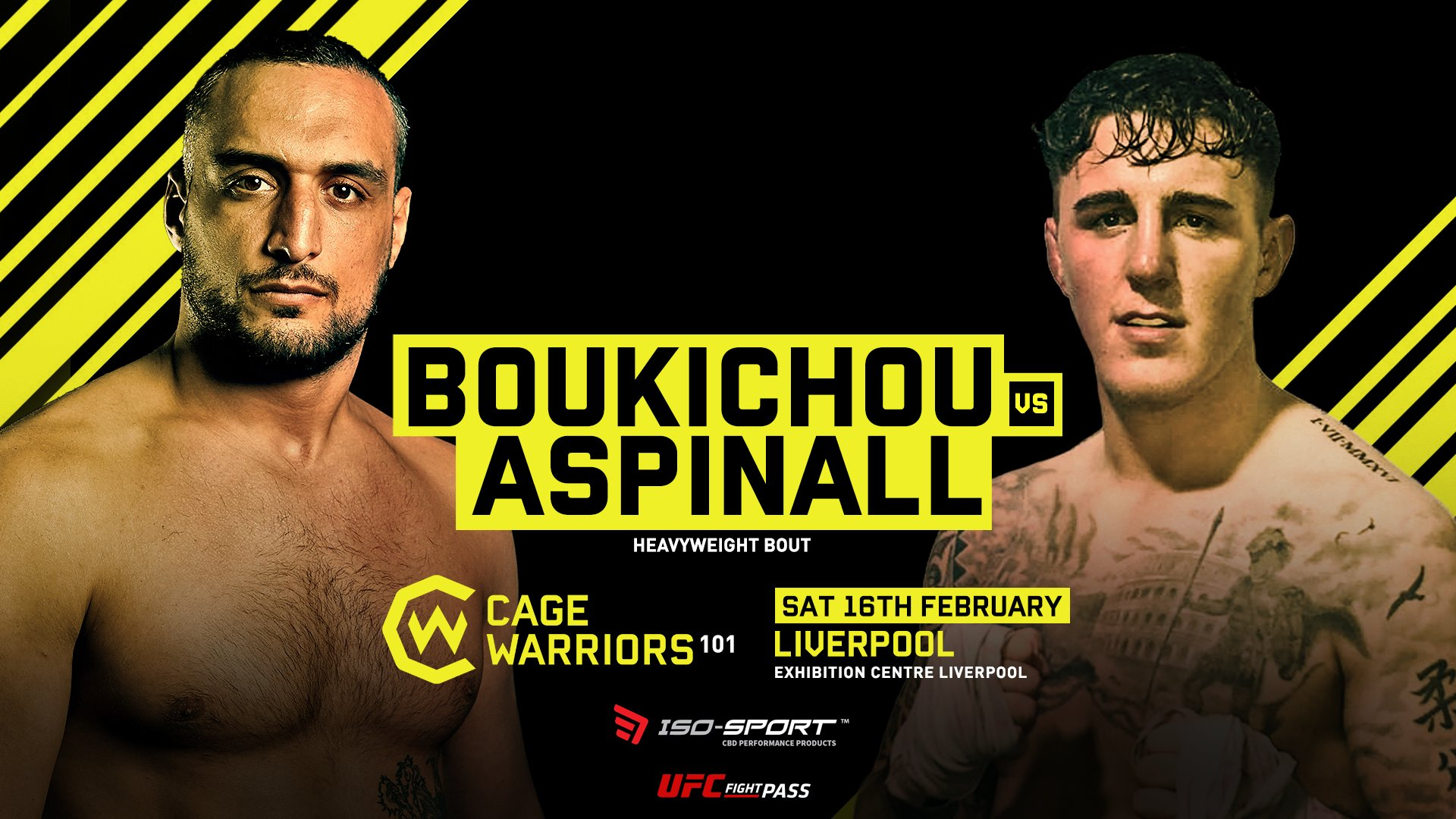 Cage Warriors 101 Main Event