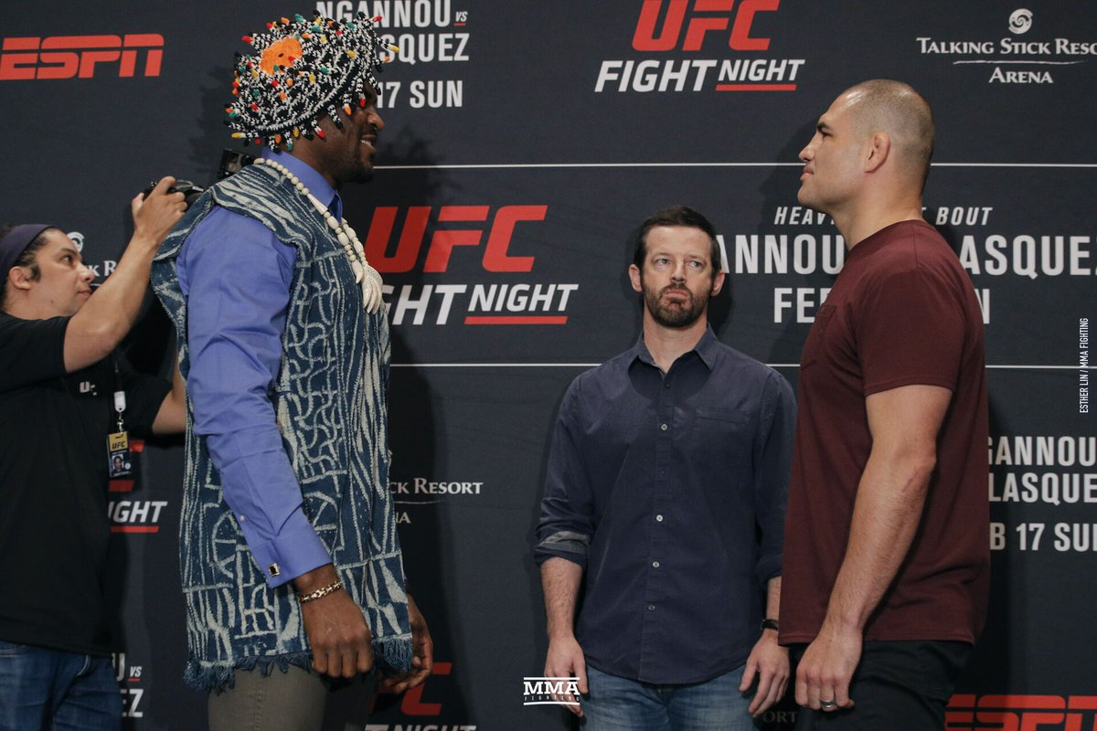 Cain and Francis square off ahead of UFC on ESPN