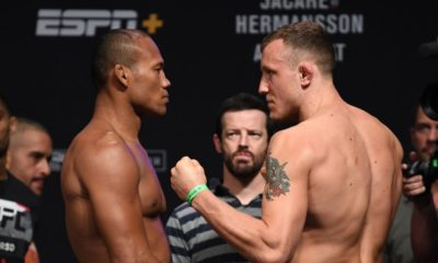 Jacare and Hermansson face off