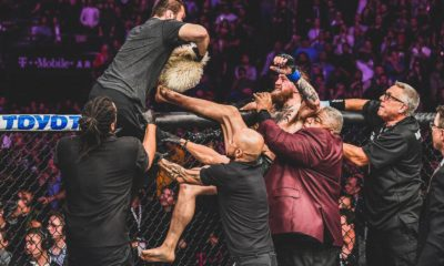 Conor McGregor UFC 299 post fight brawl